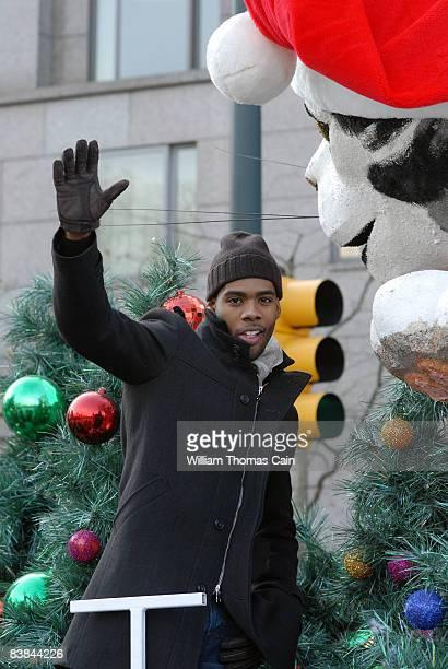 Singer Mario waves to the crowd during the 6ABC/IKEA Thanksgiving Day Parade November 27, 2008 in Philadelphia, Pennsylvania. The Philadelphia Parade...