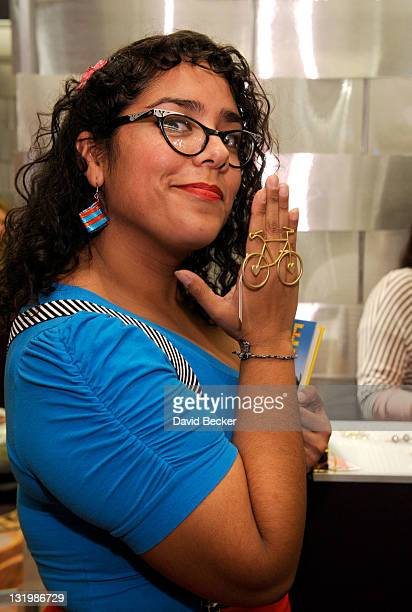 Singer Marisol Hernandez of the band La Santa Cecilia attends the 12th Annual Latin GRAMMY Awards Gift Lounge Day 2 held at the Mandalay Bay Events...