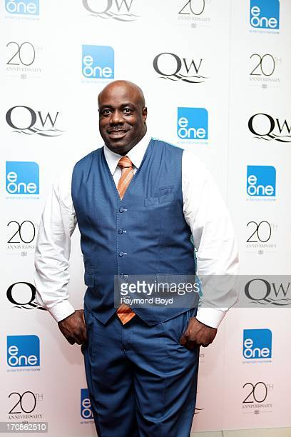Singer Mark Hubbard poses for photos during red carpet for gospel superstar Donald Lawrence's 20 Year Celebration live recording at Living Word...