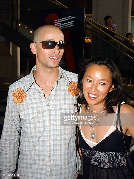 Singer Mark Lizotte and his wife Jep Lizotte arrive for the premiere of the film '21 Grams' at the Dendy Opera Quays cinema on December 14 2003 in...