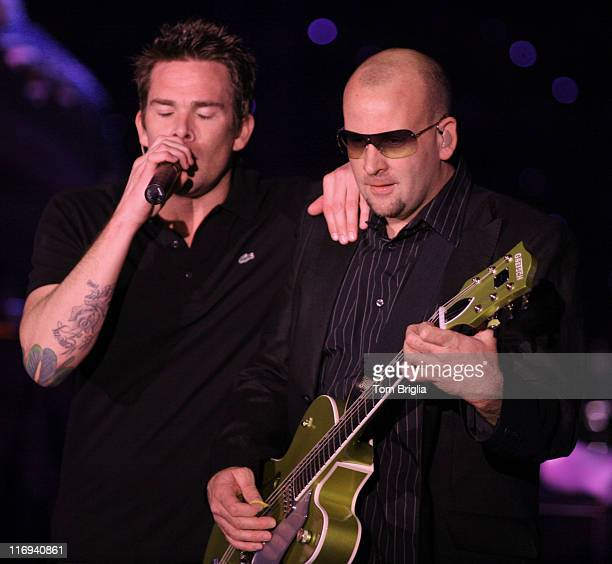 Singer Mark McGrath and Guitarist Rodney Sheppard of Sugar Ray