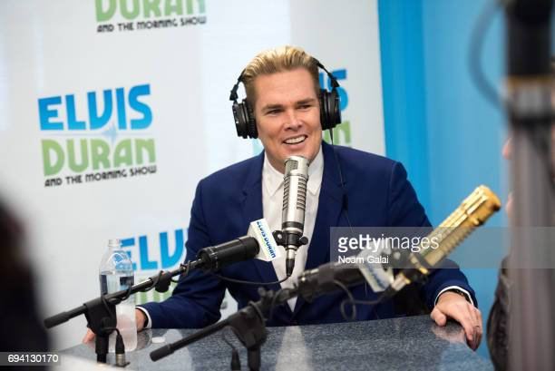 Singer Mark McGrath visits The Elvis Duran Z100 Morning Show at Z100 Studio on June 7 2017 in New York City