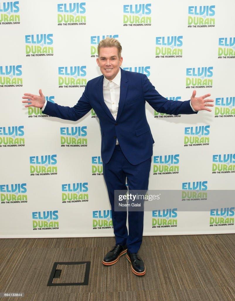 Singer Mark McGrath visits 'The Elvis Duran Z100 Morning Show' at Z100 Studio on June 7, 2017 in New York City.