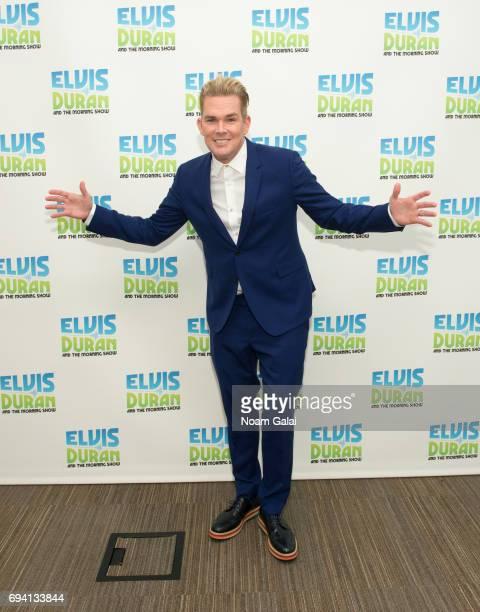 "Singer Mark McGrath visits ""The Elvis Duran Z100 Morning Show"" at Z100 Studio on June 7, 2017 in New York City."