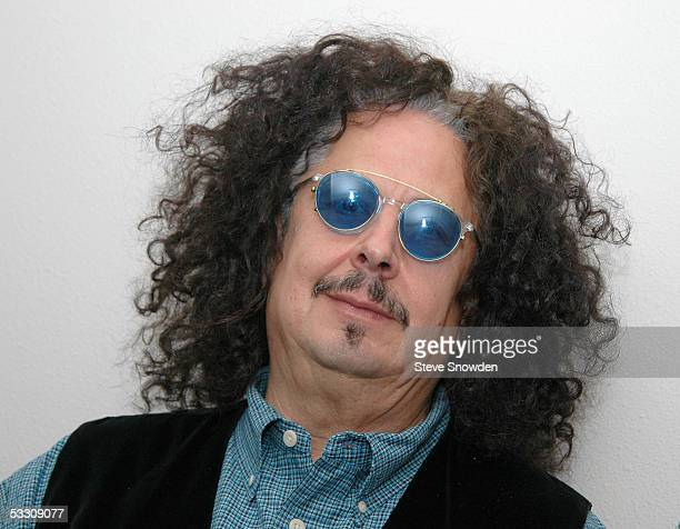 Singer Mark Volman of the 1960's poprock group The Turtles poses backstage at Route 66 Casino Legends Theater on July 30 2005 in Albuquerque New...