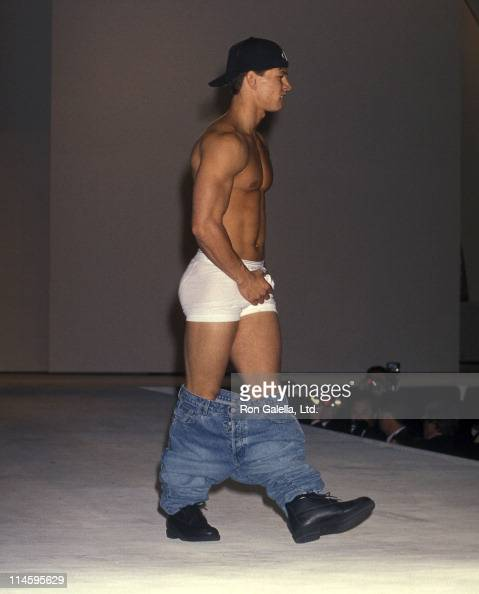 Singer Mark Wahlberg walks the runway at the Seventh ...