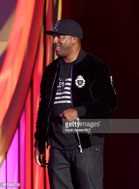 Singer Markell Riley of WreckxnEffect performs onstage during the 2016 Soul Train Music Awards on November 6 2016 in Las Vegas Nevada