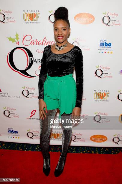 Singer Marleen Thimas attends the '5th Annual Caroling with Q Parker and Friends' at Atlanta Marriott Buckhead on December 11 2017 in Atlanta Georgia