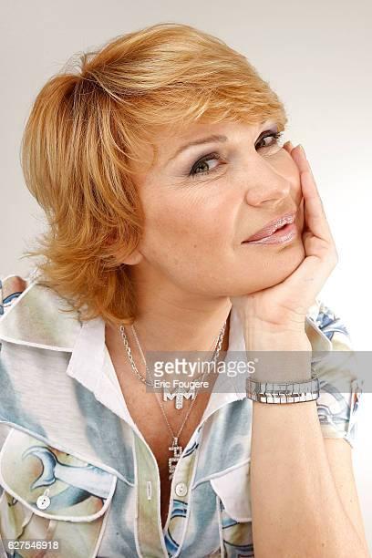 Singer Marlene Mourreau photographed in Paris