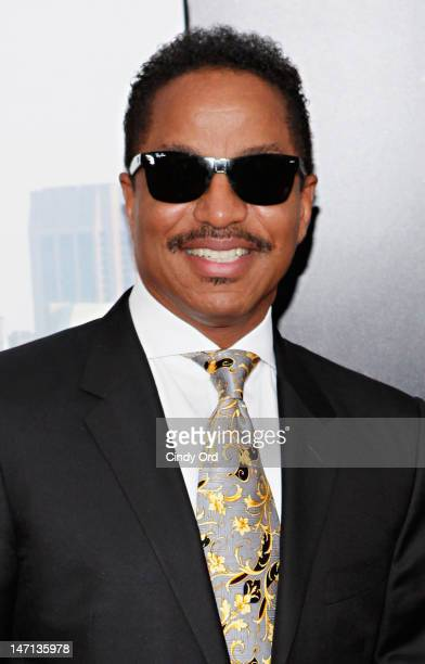 Singer Marlon Jackson attends Tyler Perry's Madea's Witness Protection New York Premiere at AMC Lincoln Square Theater on June 25 2012 in New York...
