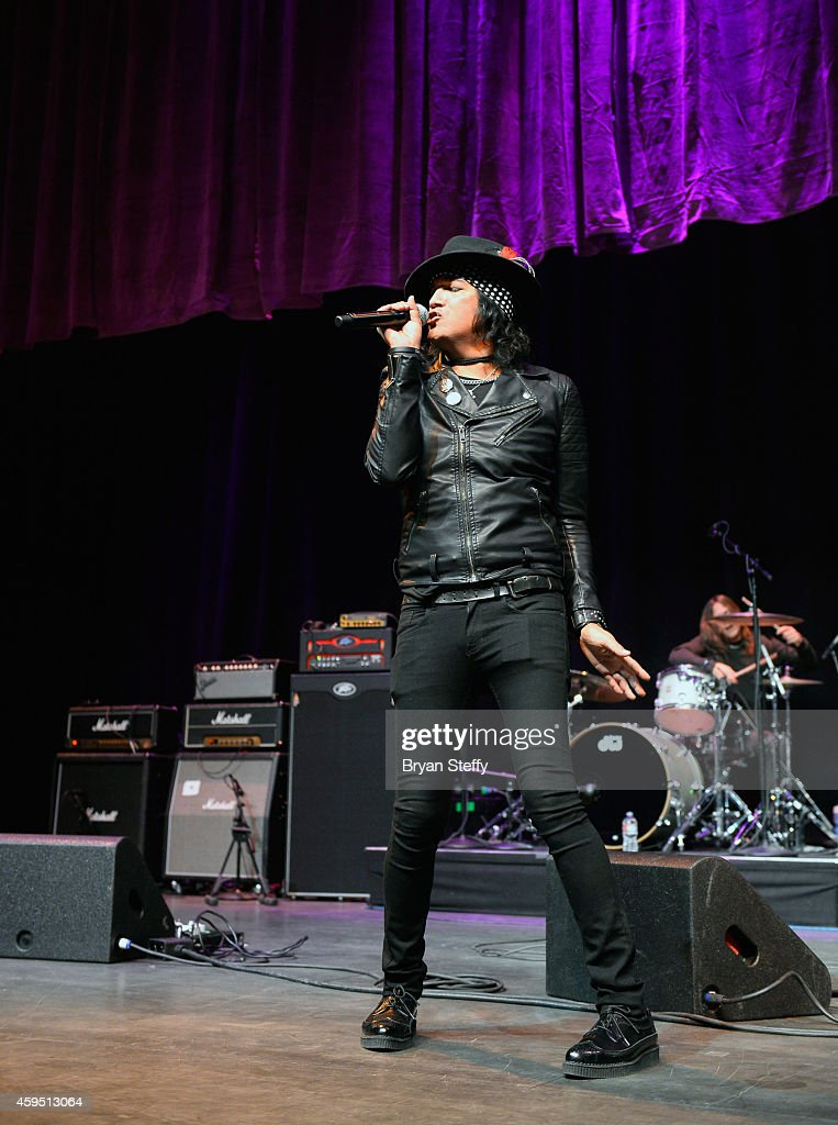 Singer Marq Torien performs during The 5th annual Vegas Rocks! Magazine Music Awards at The Pearl Concert Theater at the Palms Casino Resort on November 23, 2014 in Las Vegas, Nevada.