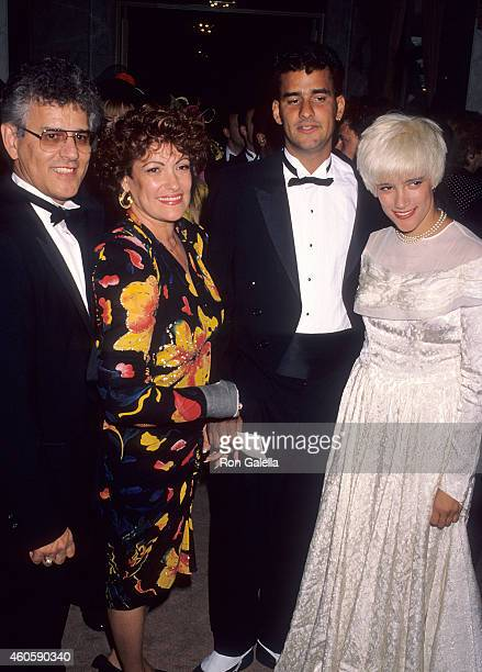 Singer Martika father Gil Marrero mother Marta Marrero and brother Marki Marrero attend the Seventh Annual ASCAP Pop Music Awards on May 16 1990 at...