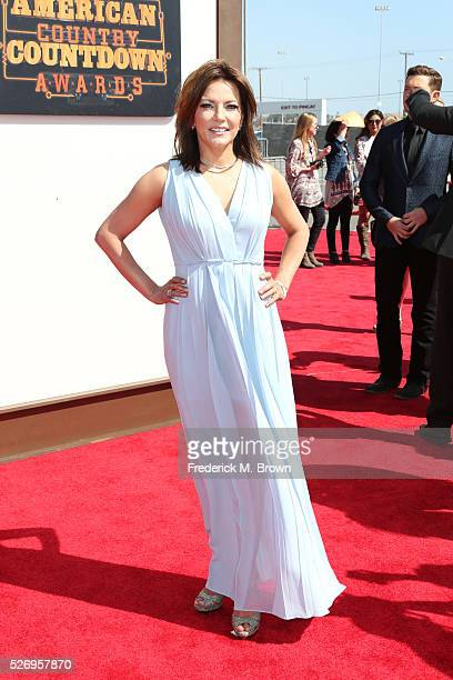 Singer Martina McBride attends the 2016 American Country Countdown Awards at The Forum on May 1 2016 in Inglewood California