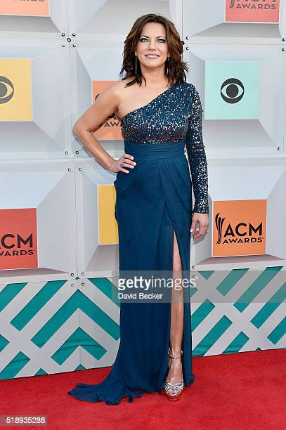 Singer Martina McBride attends the 51st Academy of Country Music Awards at MGM Grand Garden Arena on April 3 2016 in Las Vegas Nevada