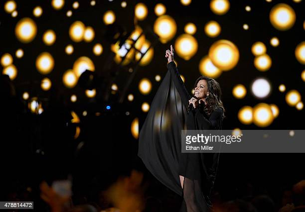 Singer Martina McBride performs during the 50th Academy of Country Music Awards at ATT Stadium on April 19 2015 in Arlington Texas
