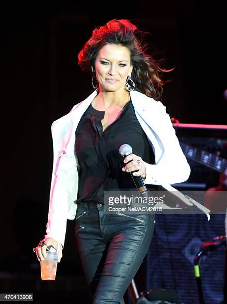 Singer Martina McBride performs onstage during the 50th Academy Of Country Music Awards All Star Jam at ATT Stadium on April 19 2015 in Arlington...