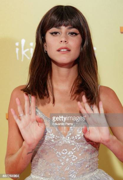 Singer Martina Stoessel attends the 'Tadeo Jones 2 El secreto del Rey Midas' premiere at Kinepolis cinema on August 22 2017 in Madrid Spain