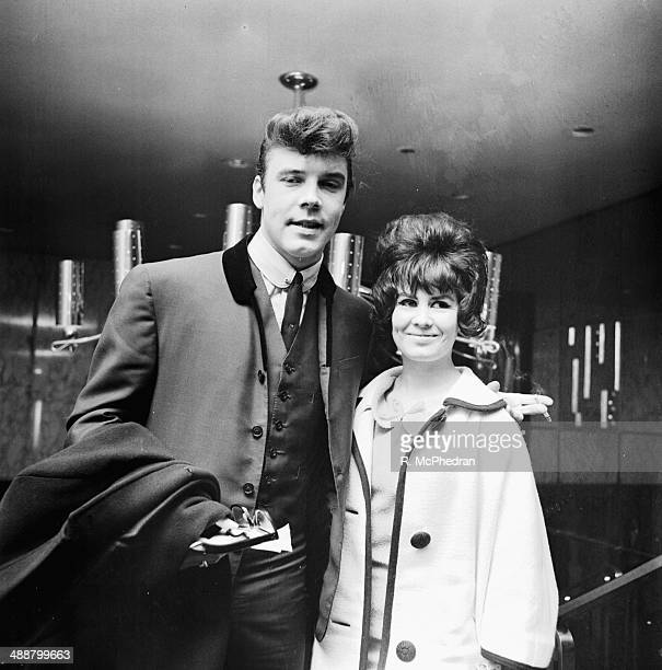 Singer Marty Wilde and his wife March 11th 1964