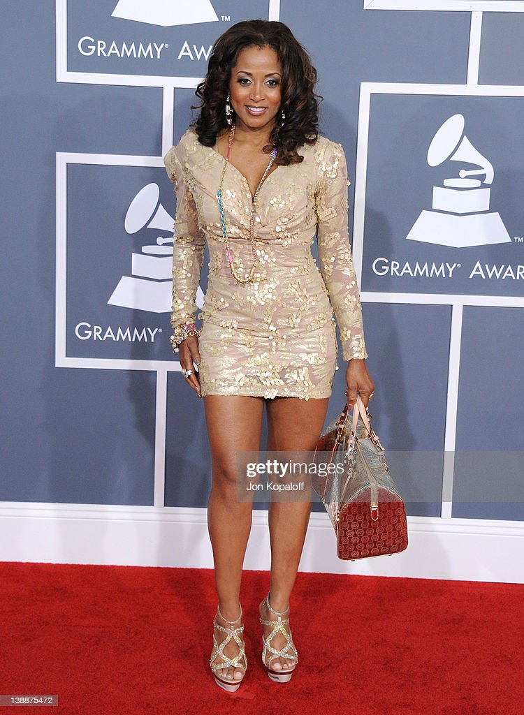 Singer Marva Kim arrives at 54th Annual GRAMMY Awards held the at Staples Center on February 12, 2012 in Los Angeles, California.