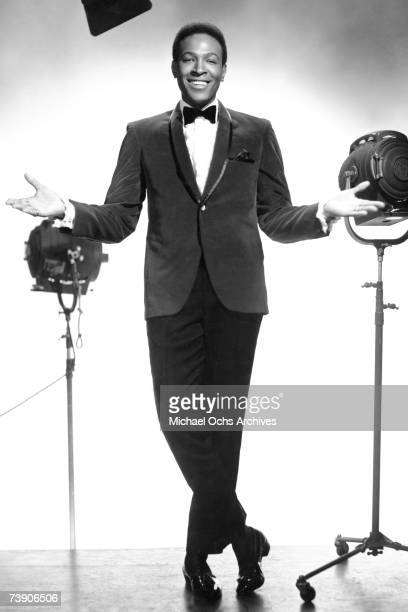 B singer Marvin Gaye poses for a portrait in circa 1964 in New York City New York