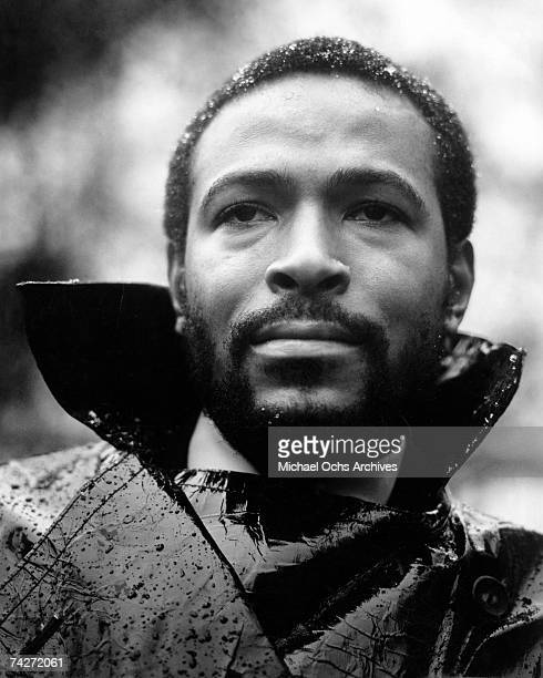 """Singer Marvin Gaye poses for a portrait session for his album """"What's Going On"""" which was released on May 21. 1971."""