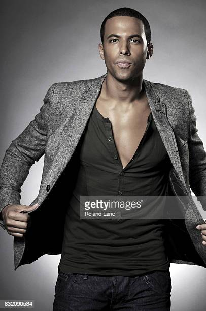 Singer Marvin Humes of pop band JLS is photographed on September 16 2011 in London England