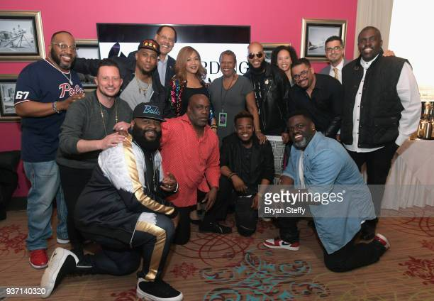 Singer Marvin Sapp singer Bryan Popin Stellar Awards Founder/Central City Productions Chairman and CEO Don Jackson singer Erica Campbell Central City...