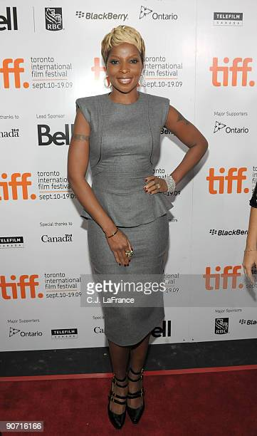 Singer Mary J Blige arrives at the 'Precious Based on the Novel 'Push' by Sapphire' screening during the 2009 Toronto International Film Festival...