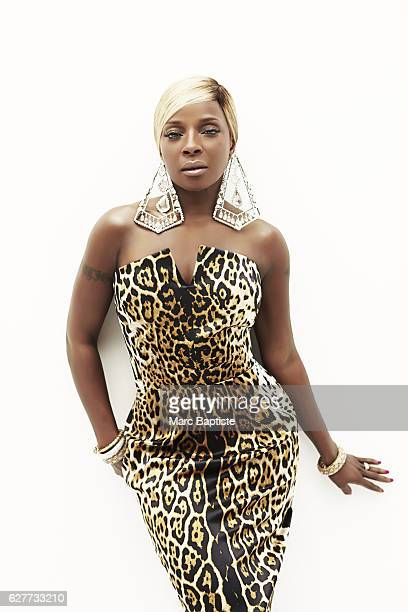 Singer Mary J Blige for Ebony 2011 COVER IMAGE Styling Marni Senofonte Hair Kim Kimble Makeup D'Andre Michael Manicure Kimmie Kyees Dress by YSL...
