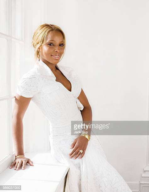 Mary J. Blige, Hamptons, May 2007
