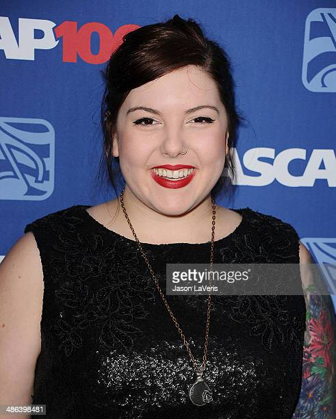 Singer Mary Lambert attends the 31st annual ASCAP Pop Music Awards at The Ray Dolby Ballroom at Hollywood Highland Center on April 23 2014 in...
