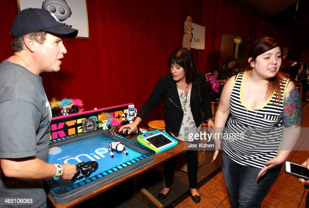 Singer Mary Lambert attends the GRAMMY Gift Lounge during the 56th Grammy Awards at Staples Center on January 25 2014 in Los Angeles California