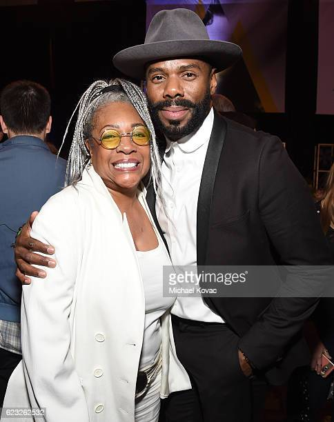 Singer Mary Wilson and actor Colman Domingo attend the after party for the premiere of 'Jackie' at AFI Fest 2016 presented by Audi at The Chinese...