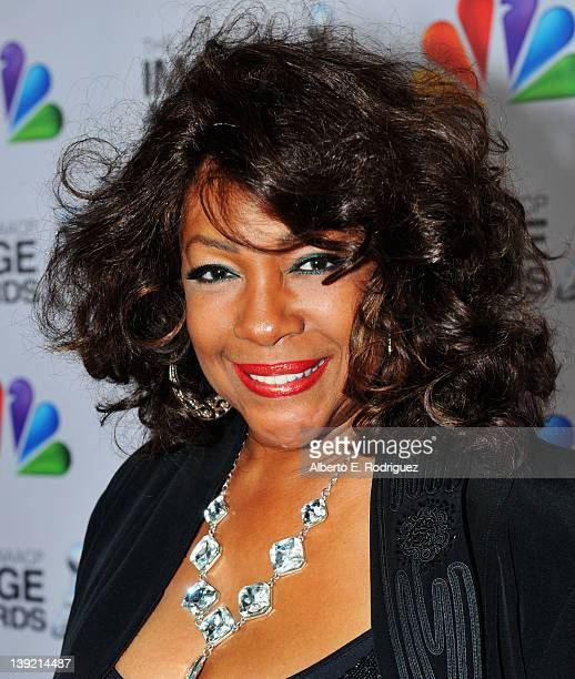 Singer Mary Wilson arrives at the 43rd NAACP Image Awards held at The Shrine Auditorium on February 17 2012 in Los Angeles California