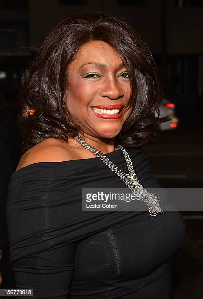 Singer Mary Wilson arrives at the premiere of Fox Searchlight Pictures' Hitchcock at the Academy of Motion Picture Arts and Sciences Samuel Goldwyn...
