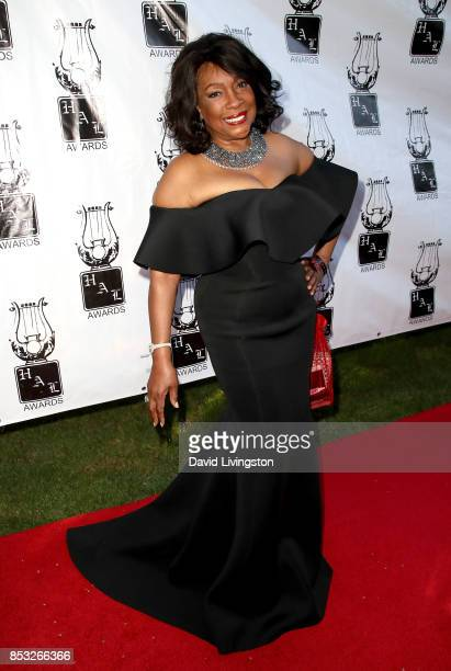 Singer Mary Wilson attends the 28th Annual Heroes and Legends Awards at Beverly Hills Hotel on September 24 2017 in Beverly Hills California