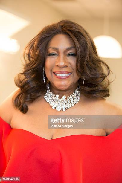 Singer Mary Wilson attends the 4th Annual Rhythm Blues Music Hall Of Fame Induction Ceremony in Metro Detroit on August 21 2016 in Detroit Michigan