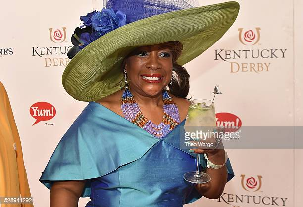 Singer Mary Wilson attends the GREY GOOSE Lounge at the 142nd running of The Kentucky Derby at Churchill Downs on May 7 2016 in Louisville Kentuckyon...