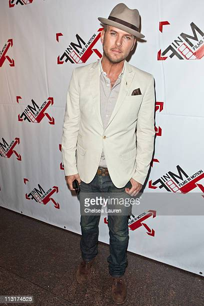 Singer Matt Goss arrives at the 'Blood Out' world premiere at Directors Guild Of America on April 25 2011 in Los Angeles California