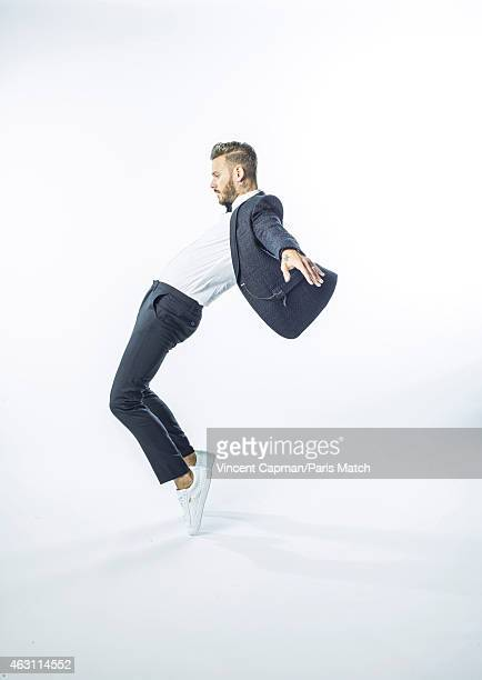 Singer Matt Pokora is photographed for Paris Match on January 9 2015 in Paris France