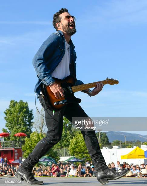 Singer Matthew Ramsey of Old Dominion performs on Day 3 of Country Summer Music Festival 2019 on June 14 2019 in Sonoma California