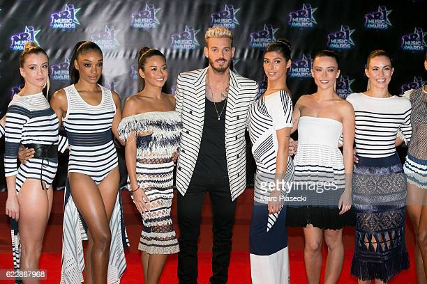 Singer Matthieu Tota aka Matt Pokora attends the 18th NRJ Music Awards at Palais des Festivals on November 12 2016 in Cannes France