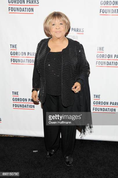 Singer Mavis Staples attends the Gordon Parks Foundation Awards Dinner Auction at Cipriani 42nd Street on June 6 2017 in New York City