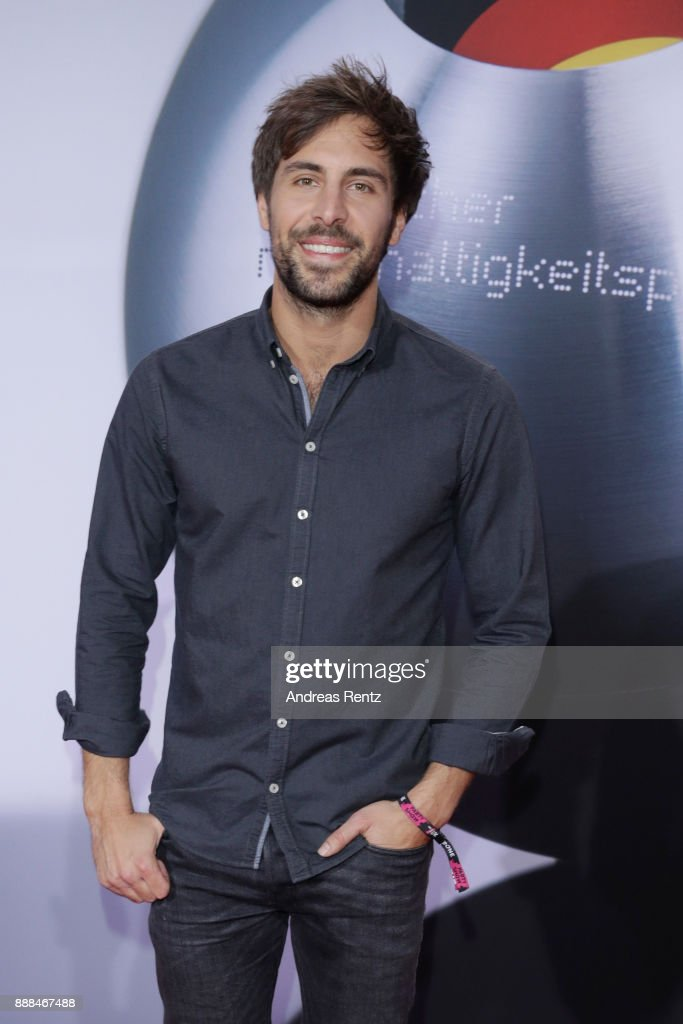 Singer Max Giesinger attends the German Sustainability Award ( Deutscher Nachhaltigkeitspreis ) at Maritim Hotel on December 8, 2017 in Duesseldorf, Germany.