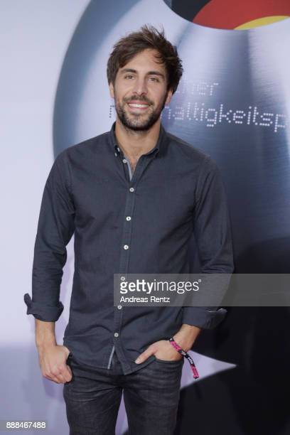 Singer Max Giesinger attends the German Sustainability Award at Maritim Hotel on December 8, 2017 in Duesseldorf, Germany.