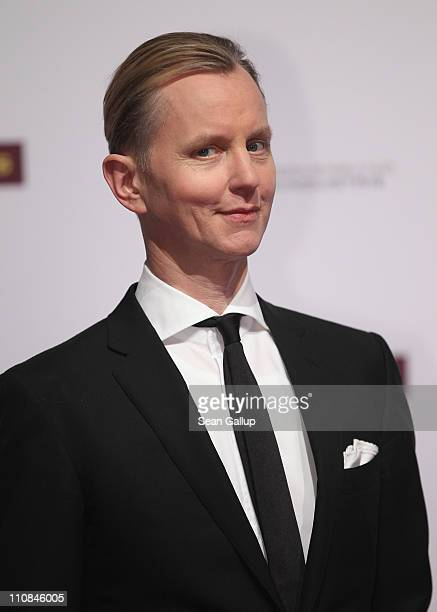 Singer Max Raabe attends the Echo Awards 2011 at Palais am Funkturm on March 24 2011 in Berlin Germany