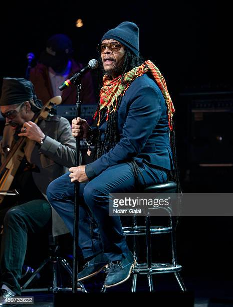 Singer Maxi Priest performs during The Wailers 30th Anniversary Performance at The Apollo Theater on November 29 2014 in New York City