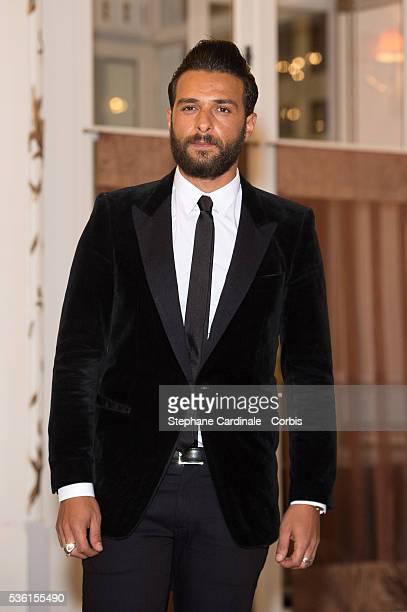 Singer Maxim Nucci attends the 29th Cabourg Romantic Film Festival on June 12 2015 in Cabourg France