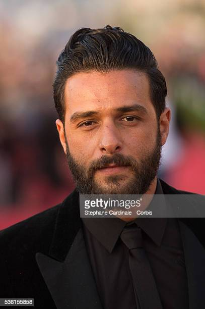 Singer Maxim Nucci attends the closing Ceremony of the 29th Cabourg Romantic Film Festival on June 13 2015 in Cabourg France