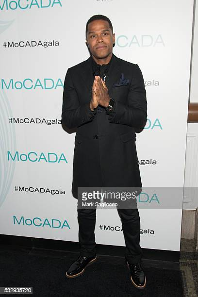 Singer Maxwell attends the 2nd Annual MoCADA Masquerade Ball at the Brooklyn Academy of Music on May 19 2016 in New York City